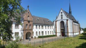 Ehemalige Abtei Mariawald besichtigt