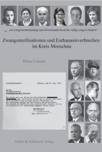 """Buch """"Zwangssterilisationen und Euthanasieverbrechen im Kreis Monschau"""" von Dieter Lenzen"""